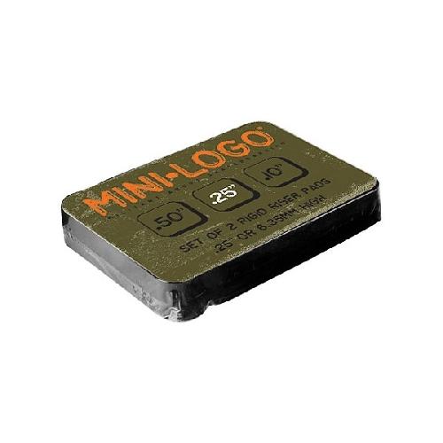 MINI LOGO PADS RISER (*2) 0.25 6.35MM