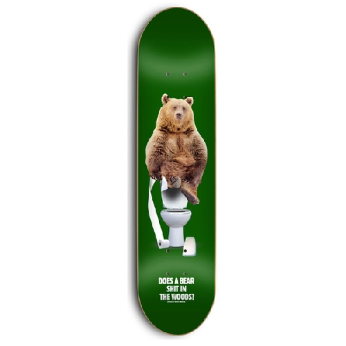 SKATE MENTAL X GRIZZLY UPPER DECKER 8.125