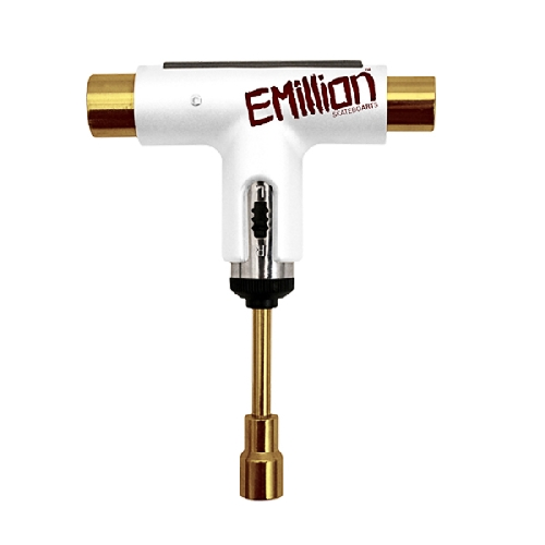 SILVER CLIQUET TOOL X EMILLION white / gold