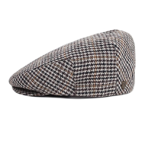 BRIXTON HOOLIGAN SNAP CAP brown tan