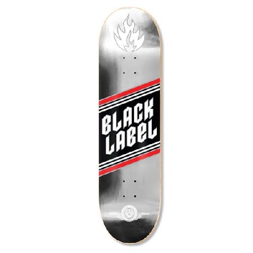 BLACK LABEL TOP SHELF SILVER FOIL 8 X 31.62