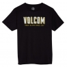VOLCOM CAMP BSC SS YOUTH TEE black