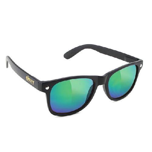Glassy LEONARD Matte black/Green Mirror