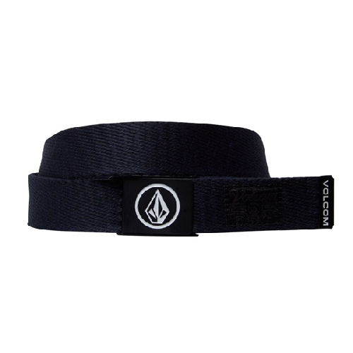 VOLCOM CIRCLE WEB BELT navy