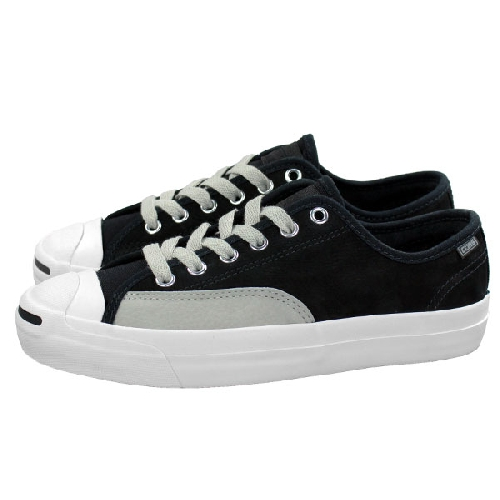 CONVERSE JACK PURCELL PRO OX black pale grey vintage