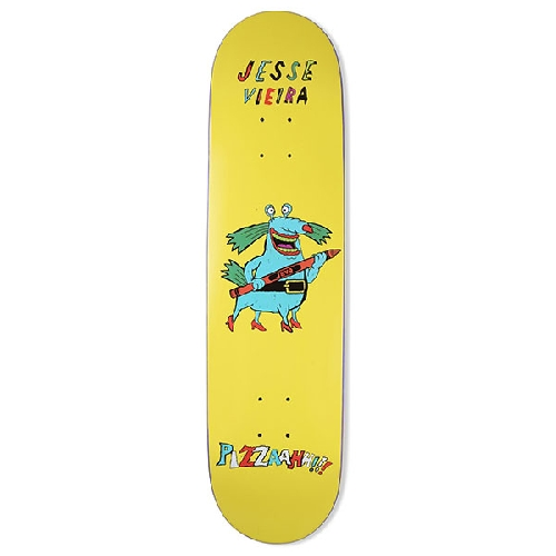 PIZZA PIZZAAHH MONSTER VIEIRA DECK 8.125 x 32.375