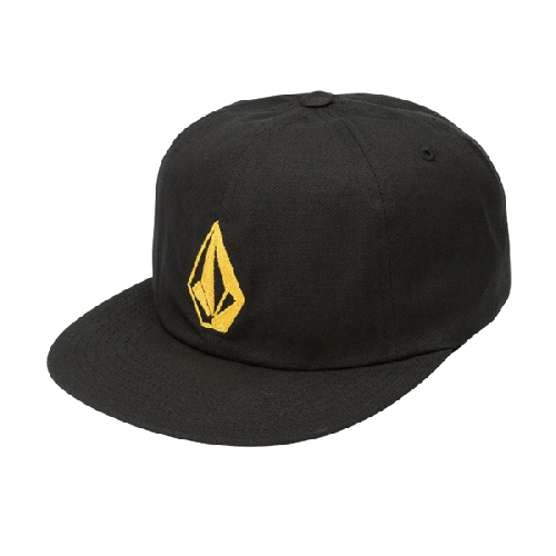 VOLCOM STONE BATTERY CAP black/golden haze