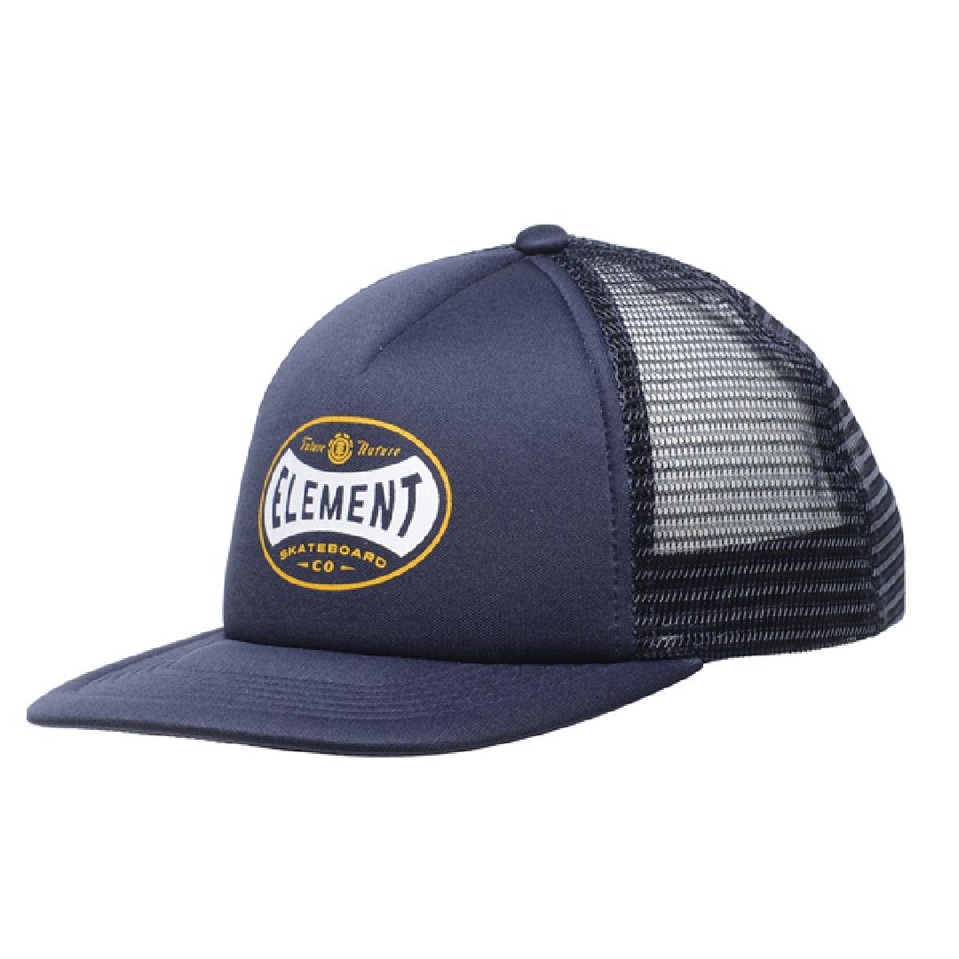 ELEMENT RIFT TRUCKER BOY CAP eclipse navy