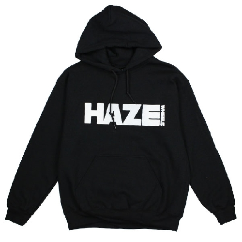 HAZE BOX LOGO HOOD black