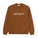 CARHARTT CARHARTT SWEAT Hamilton Brown / White