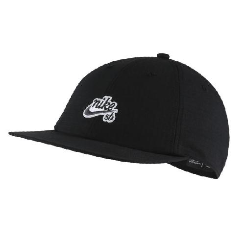 01a6526a2f0 NIKE SB H86 FLATBILL CAP black thunder grey