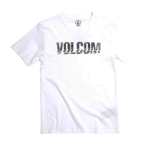VOLCOM CHOPPED EDGE BSC SS YOUTH TEE white