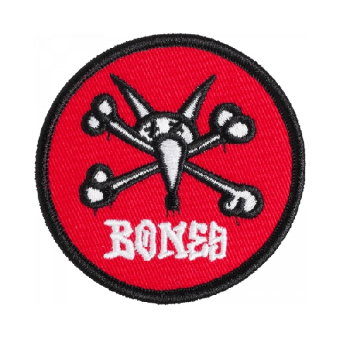 POWELL PERALTA PATCH VATO BONES 2 red 6.5cm