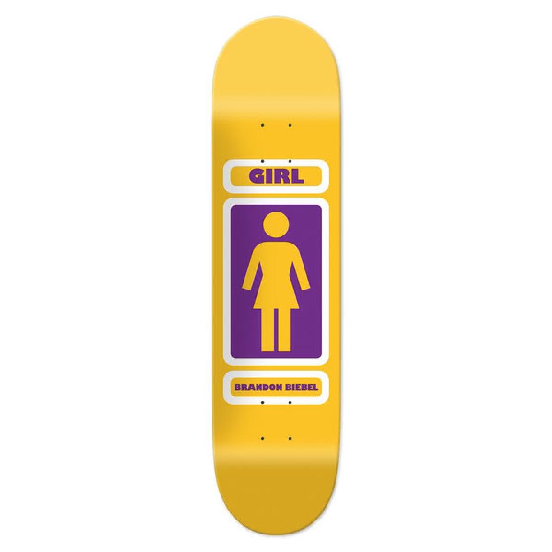 GIRL BIEBEL 93 TIL WR37 DECK 8.125 X 31.625