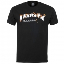 THRASHER INTRO BURNER SS TEE black