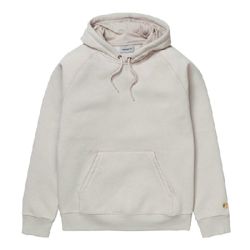 CARHARTT HOODED CHASE SWEAT Boulder/gold