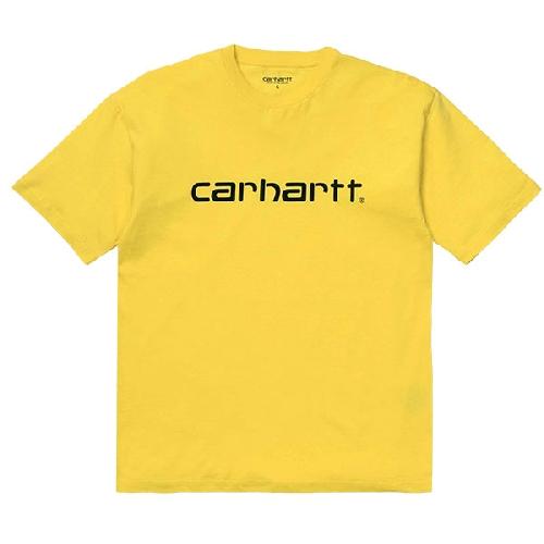 CARHARTT SCRIPT SS T SHIRT Primula / Black