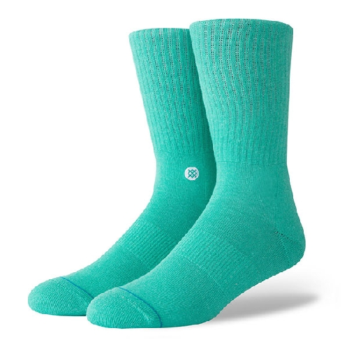 STANCE ICON SOCK teal