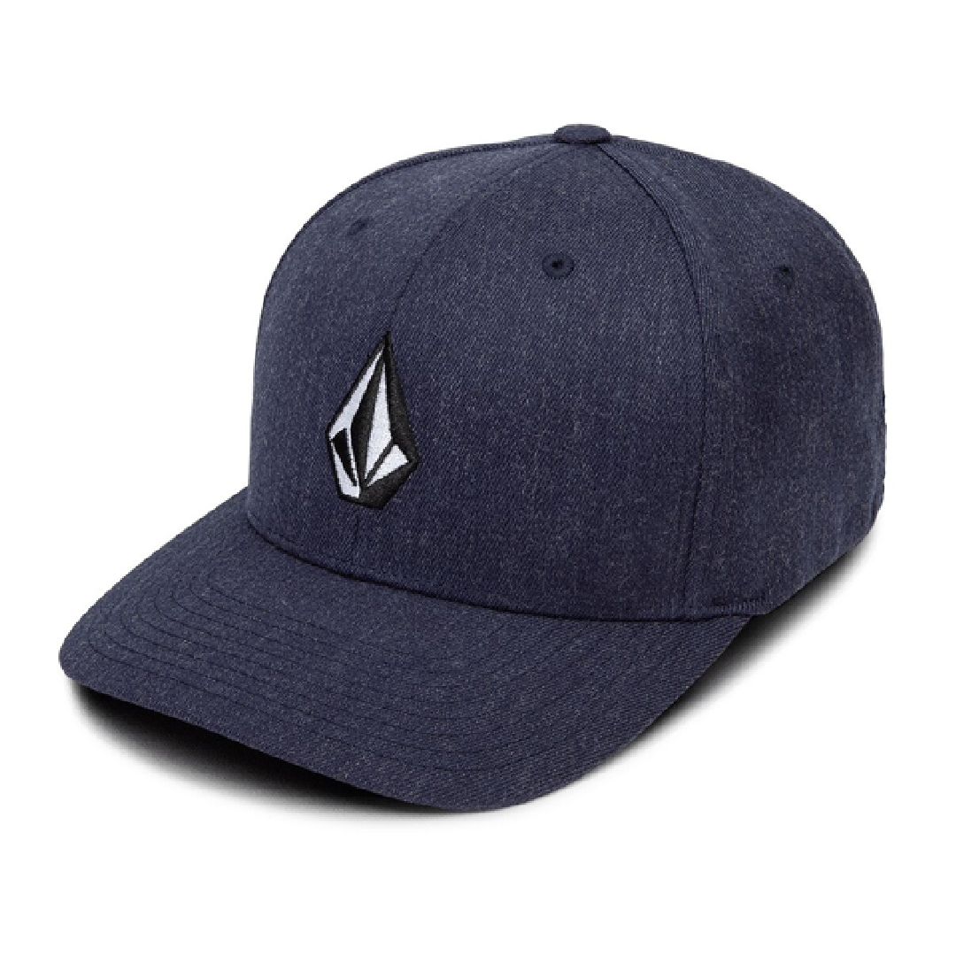 VOLCOM FULL STONE XFIT HAT navy heather