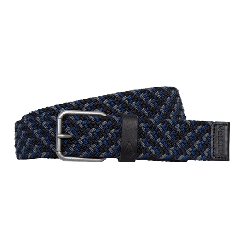 VOLCOM KRUPPA WEB BELT navy