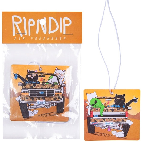 Ripndip THE WHOLE GANG AIR FRESHENER white