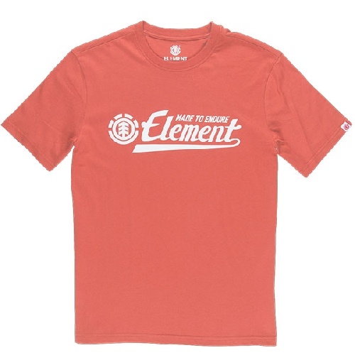 ELEMENT SIGNATURE SS TEE etruscan red