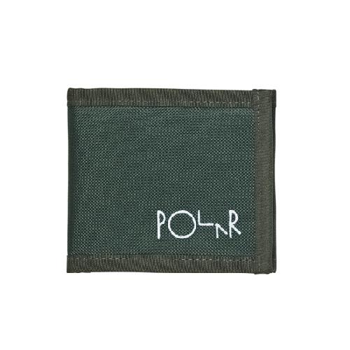 POLAR CORDURA WALLET Dark Green