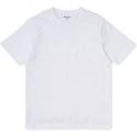 CARHARTT SCRIPT TSHIRT White / White