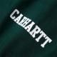 CARHARTT COLLEGE SCRIPT TSHIRT Dark Fir / White
