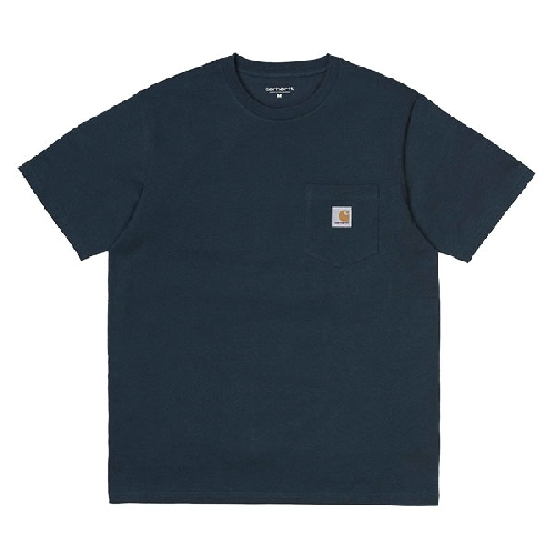CARHARTT POCKET TSHIRT Duck Blue