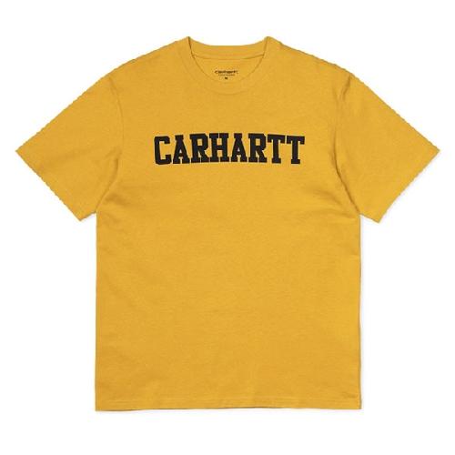 CARHARTT COLLEGE TSHIRT Colza / Black