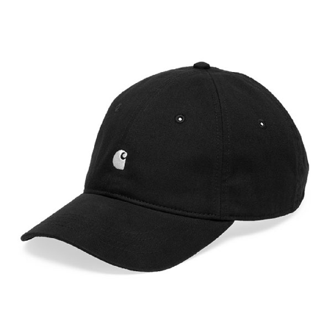 CARHARTT MADISON LOGO CAP Twill Black / White