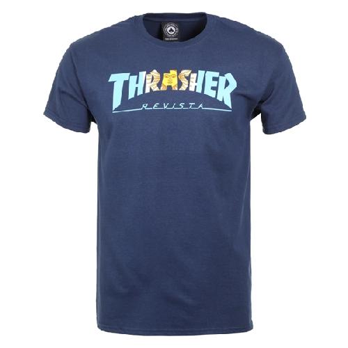 THRASHER ARGENTINA TEE navy