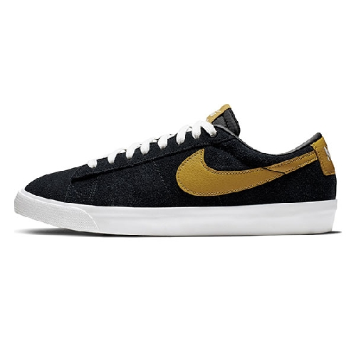 NIKE SB BLAZER LOW GT black/wheat/white