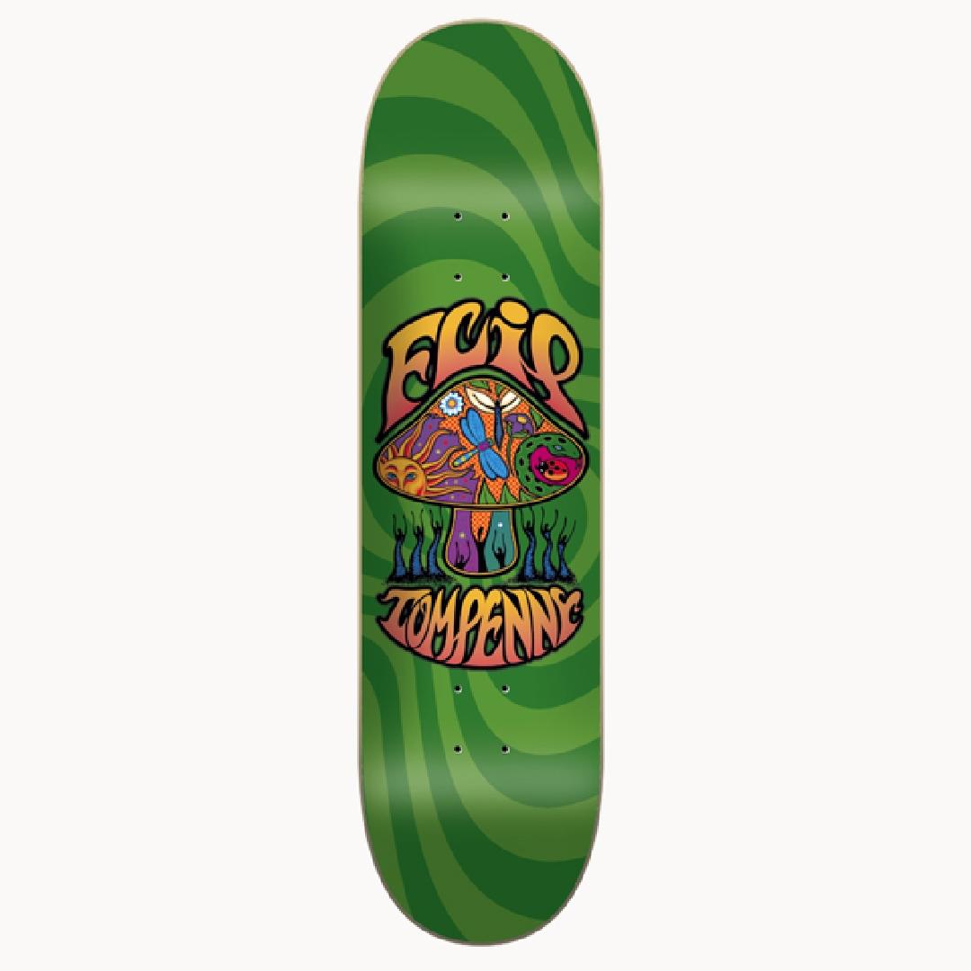 FLIP LOVESHROOM GREEN DECK 8.25 x 32.31