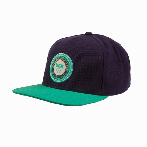 DGK WORLDWIDE SNAPBACK multi