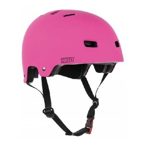 BULLET HELMET DELUXE JUNIOR pink 49-54cm