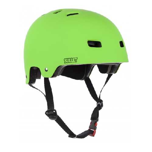BULLET HELMET DELUXE JUNIOR green 49-54cm