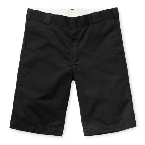 CARHARTT WIP MASTER SHORT Black rinsed