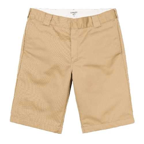 CARHARTT WIP MASTER SHORT Leather rinsed