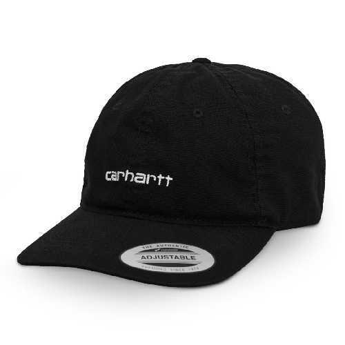 CARHARTT WIP CANVAS COACH CAP Black / White