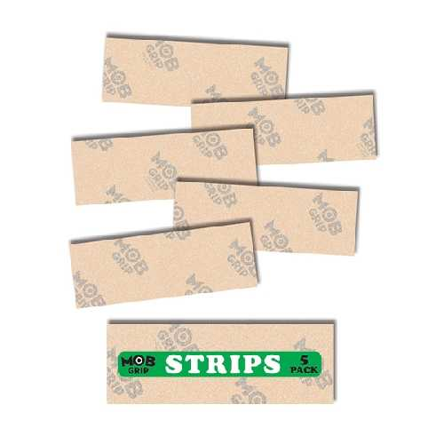 MOB GRIP GRIP CLEAR STRIPS 23 x 8.5 cm (pack de 5)