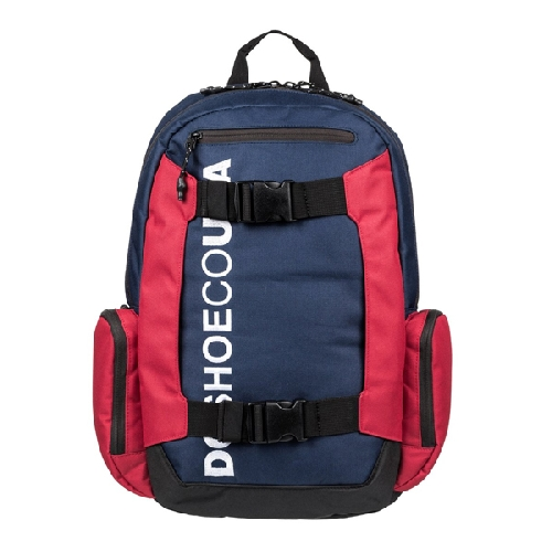 DC CHALKERS BACKPACK blue red white