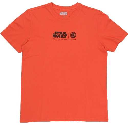 ELEMENT X STAR WARS FIRE SS TEE red clay