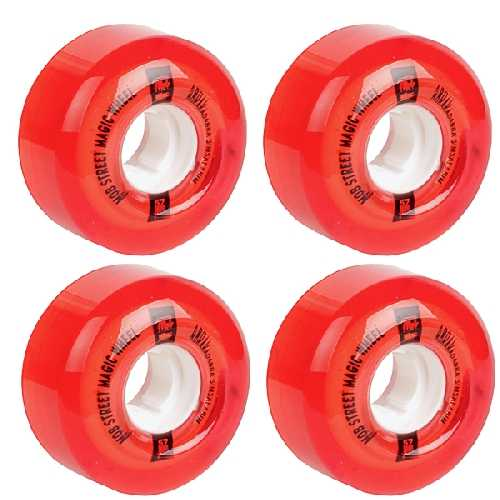 MOB STREET MAGIC WHEELS RED 78A  57mm