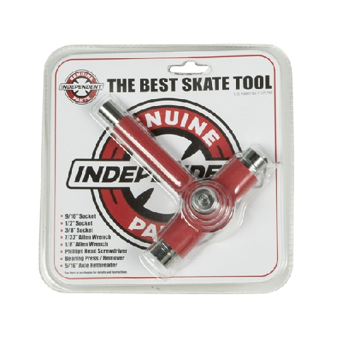 INDEPENDENT TOOL BEST SKATE TOOL red