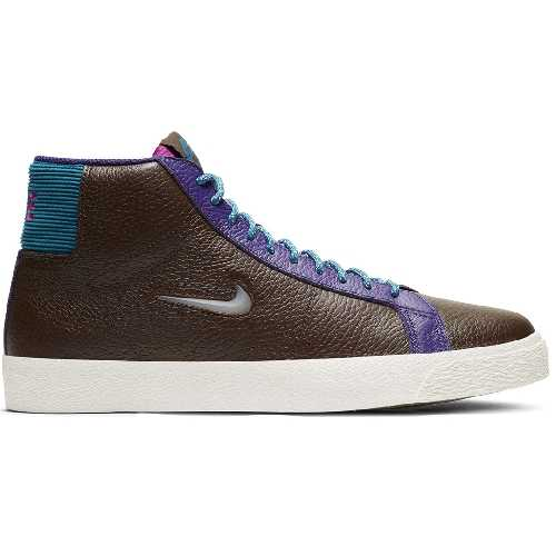 NIKE SB BLAZER MID PREMIUM baroque brown white green