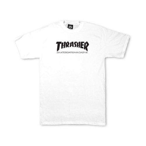THRASHER SKATE MAG YOUTH TEE white