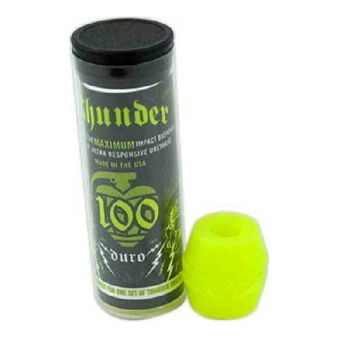THUNDER TUBE DE 4 GOMMES 100D yellow