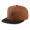 CARHARTT LOGO CAP BI COLORED Hamilton Brown / Black